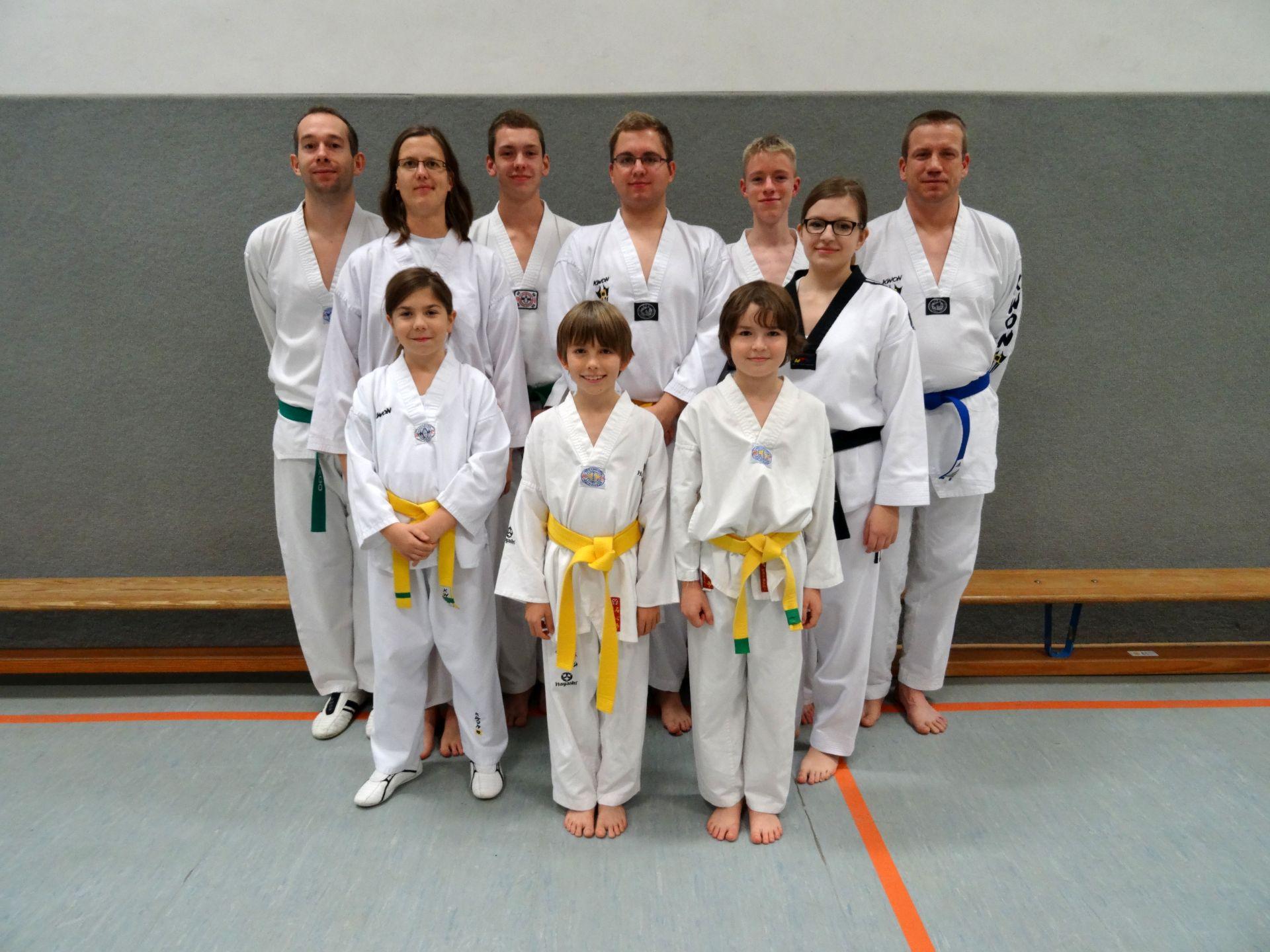 Erfolgreiche Teilnahme an Landesmeisterschaft 2014